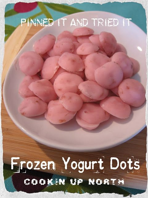 cookin' up north: Yogurt Dots