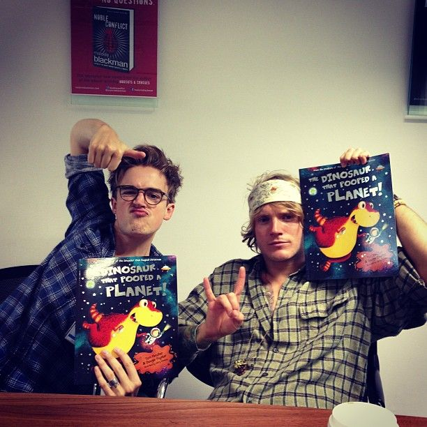 McFly - These and the fact that they have written a great children's book makes them even more awesome :)
