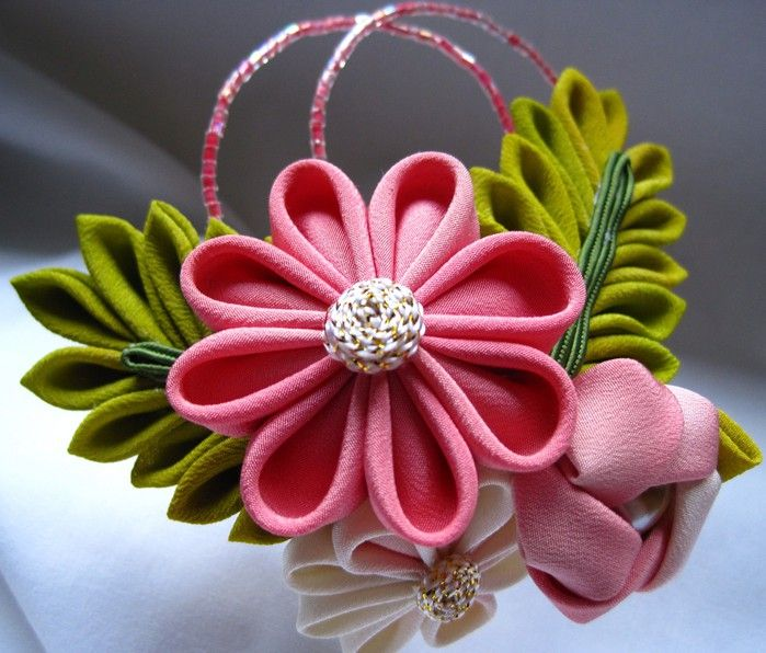 kanzashi flower pattern - Bing Images