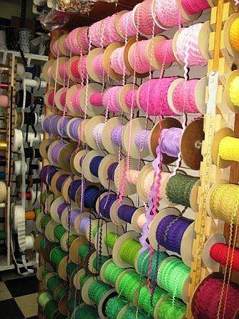 Gertie's New Blog for Better Sewing: My Garment District Guide. @Jordan Bromley Ellis