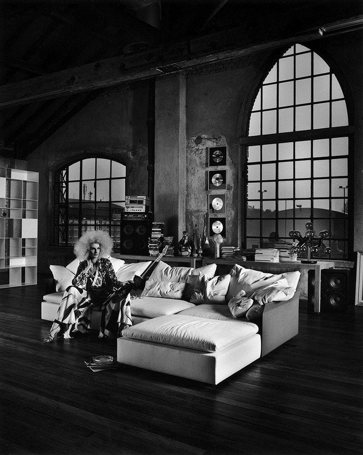 FLEXFORM #tbt 2005 RESORT #sofa advertising campaign   Photo by Maria Vittoria Backhaus