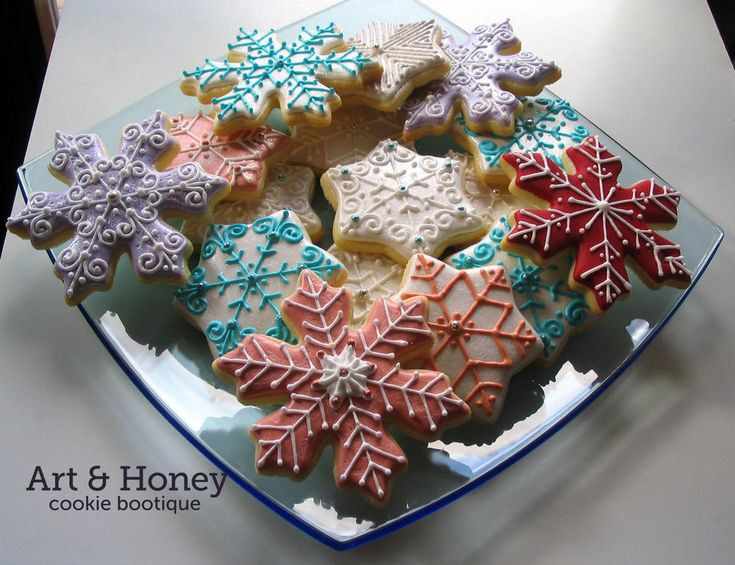 Snowflakes cookies | Cookie Connection