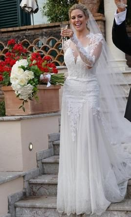 Superb Pnina Tornai Size Used Wedding Dresses