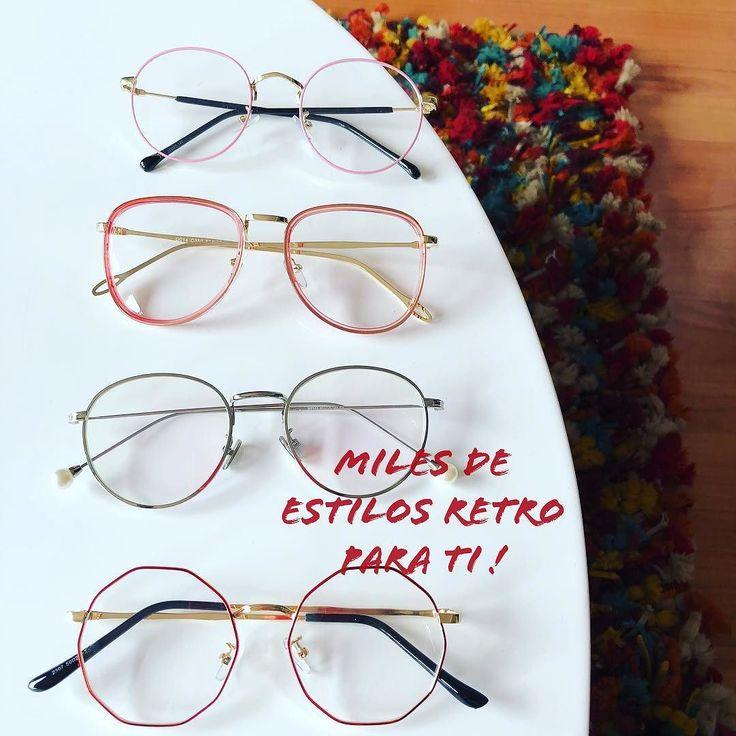 En @tuoptica_co encuentras miles de modelos retro! Visítanos seguro hay uno hecho para ti -Barranquilla y valledupar- envíos nacionales gratis #moda #retro #opticascolombia #envios #monturas