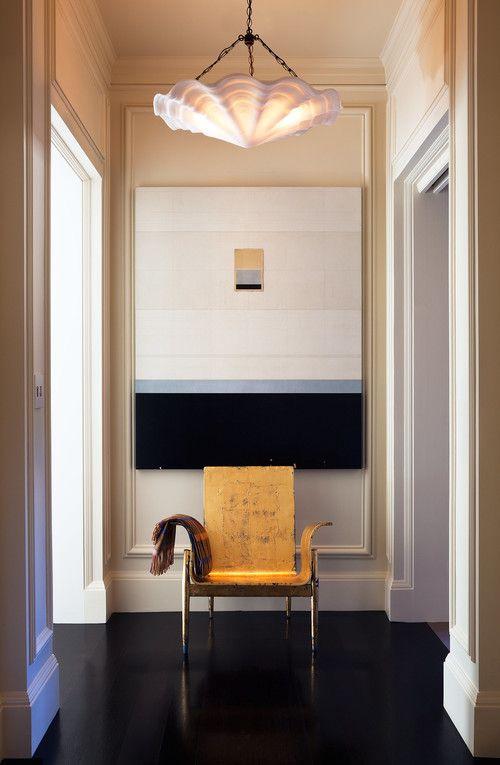 Heather Hilliard Design. Coquille chandelier by Remains