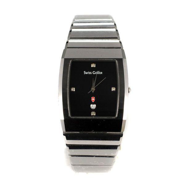 Ρολόι Swiss Golfer ανδρικό μπρασελέ 4874 – 353SW