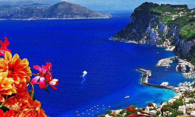 Relájate en la glamourosa isla de Capri