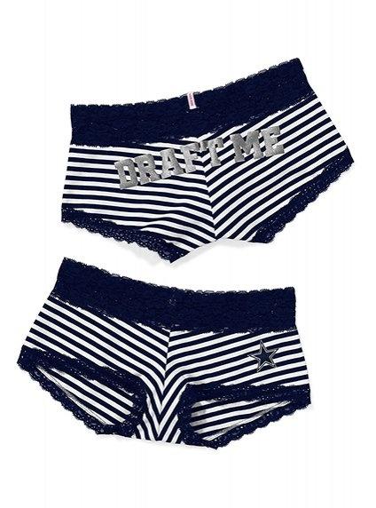 Victoria's Secret PINK Lace Trim Boyshort Panty #VictoriasSecret http://www.victoriassecret.com/pink/dallas-cowboys/lace-trim-boyshort-panty-victorias-secret-pink?ProductID=74179=OLS?cm_mmc=pinterest-_-product-_-x-_-x