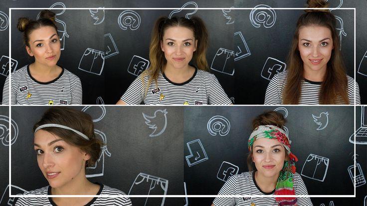 Szybkie i efektowne fryzury na lato! Zobacz jak zrobić piękną fryzurę w 2 minuty!