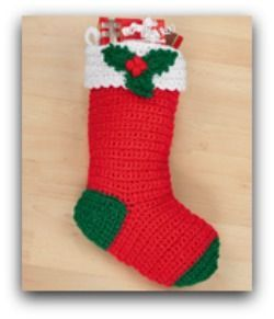 Free crochet Christmas patterns for cute stockings
