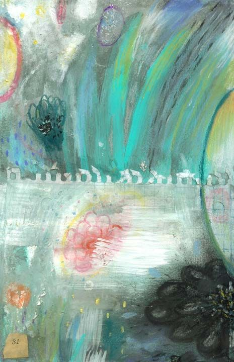 August 31 - acrylic and pastel  www.susan-mitchell.com