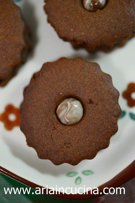 Blog di cucina di Aria: Biscotti alla farina di castagne per San Martino