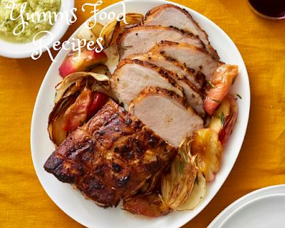 Juicy & Tender Roasted Pork Loin