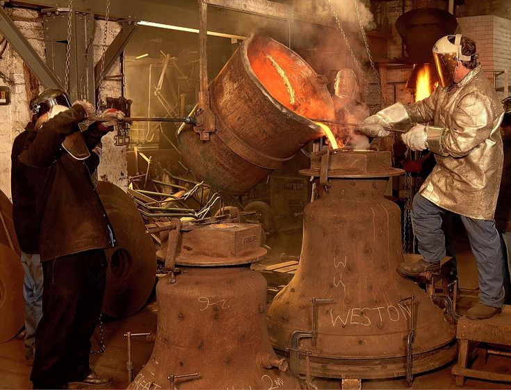 The Whitechapel Bell Foundry in London's East End.