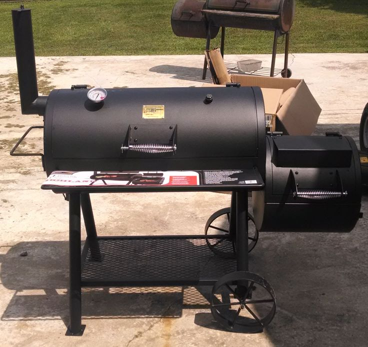 Backyard Bbq Okc: 17 Best Images About Smokers On Pinterest