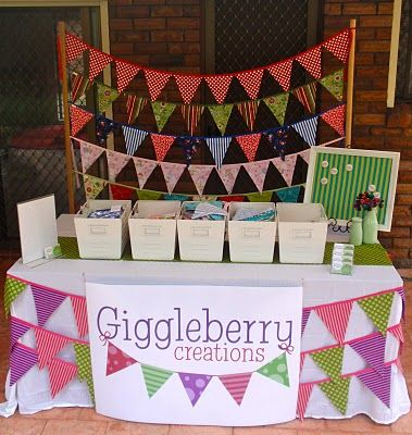 displaying buntings stall | ... me up this stand for hanging and displaying my buntings (LOVE it