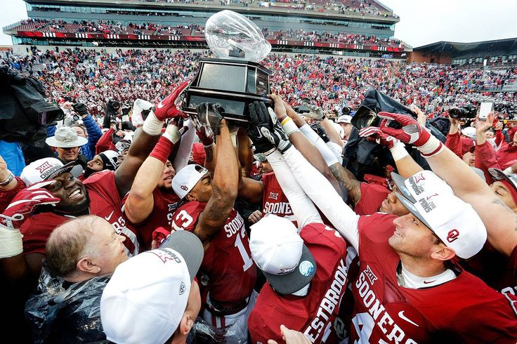 OU took Bedlam with a 38-20 victory over OSU to capture its 10th Big 12 title under head coach Bob Stoops. 2016