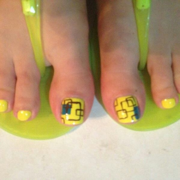 Uñas de los pies on Pinterest | Feet Nails, Pies and Toe Nails