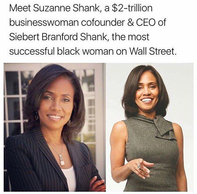 WEBSTA @embracingblackculture Responsible for $2 Trillion?! That's a lot of money. Also her company, which is Black-Female owned, is one of the top financing companies in the country. Now THAT is