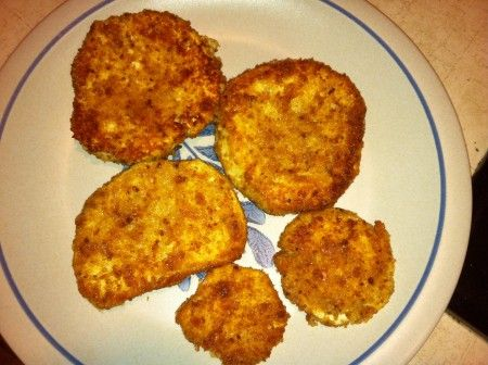 Giant Puffball Mushrooms « Cheese-Crusted Puffball Slices « The CobraHead Blog