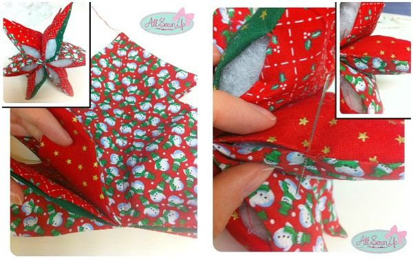 Beginners sewing projects - Christmas tree