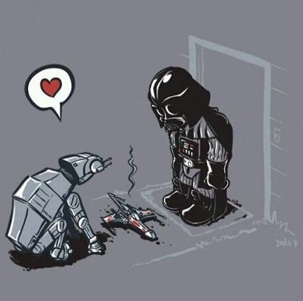 Star Wars funny pic of the day #starwars
