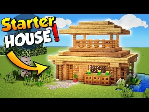 http   minecraftstream com minecraft tutorials minecraft easy starter house  tutorial how to build a house in minecraft    Minecraft  Easy Starter House. Plus de 25 id es uniques dans la cat gorie Easy minecraft houses