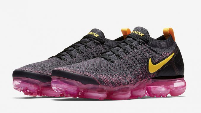 brand new 807e1 d2502 Nike Air VaporMax Flyknit 2 Color  Gridiron Laser Orange-Pink Blast-Black  Style Code  942842-008 Release Date  August 30, 2018 Price   190