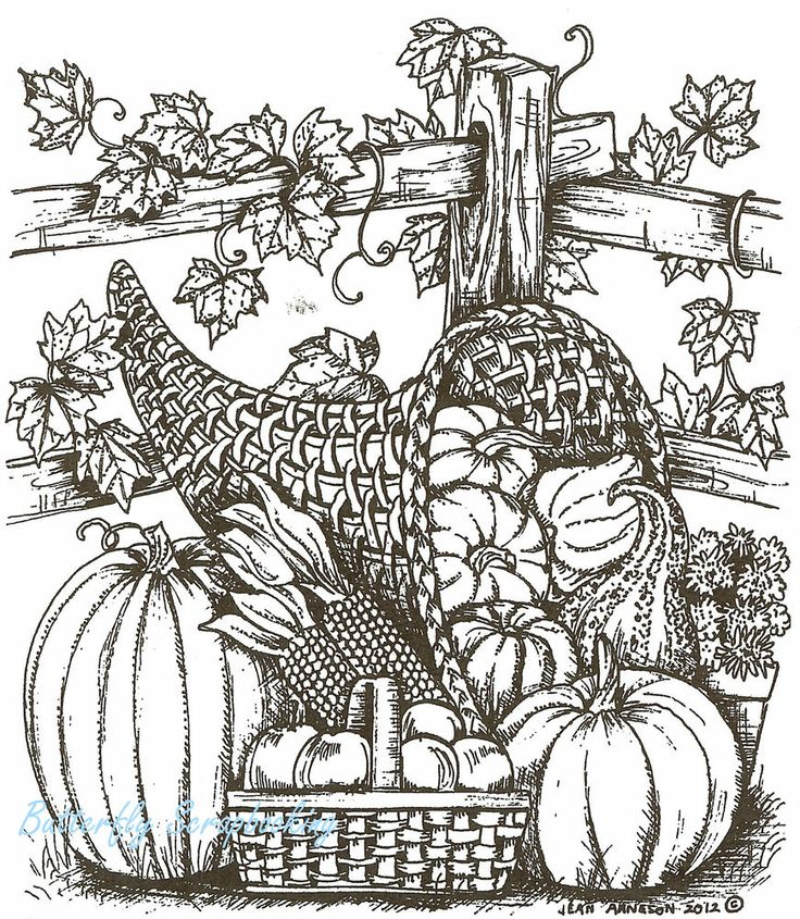 1853 best images about adult color pages on pinterest for Free adult thanksgiving coloring pages