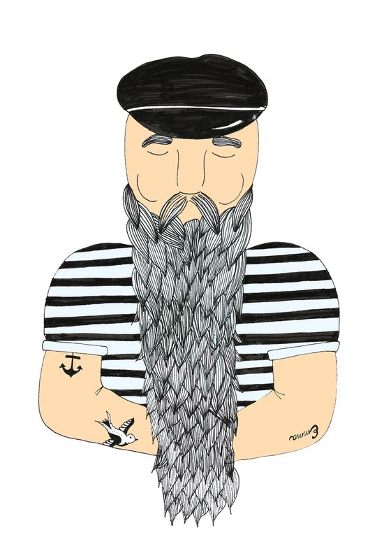 Sailor. Art Print