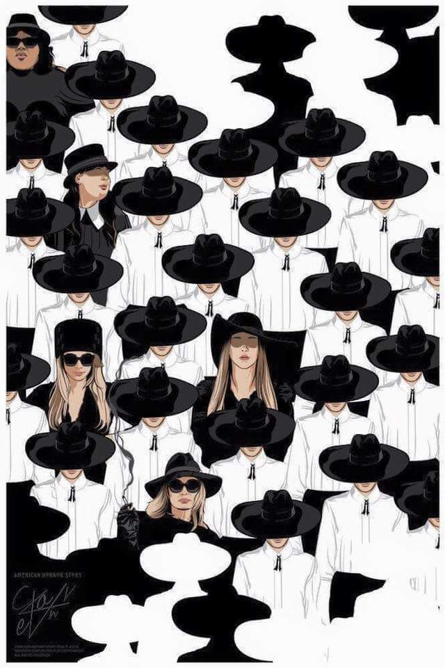 """american-horror-story COVEN """"Witches in black"""""""