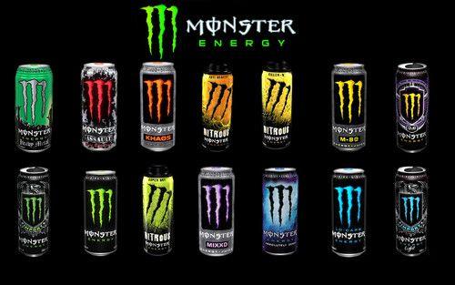 Logo Monster Energy Drink