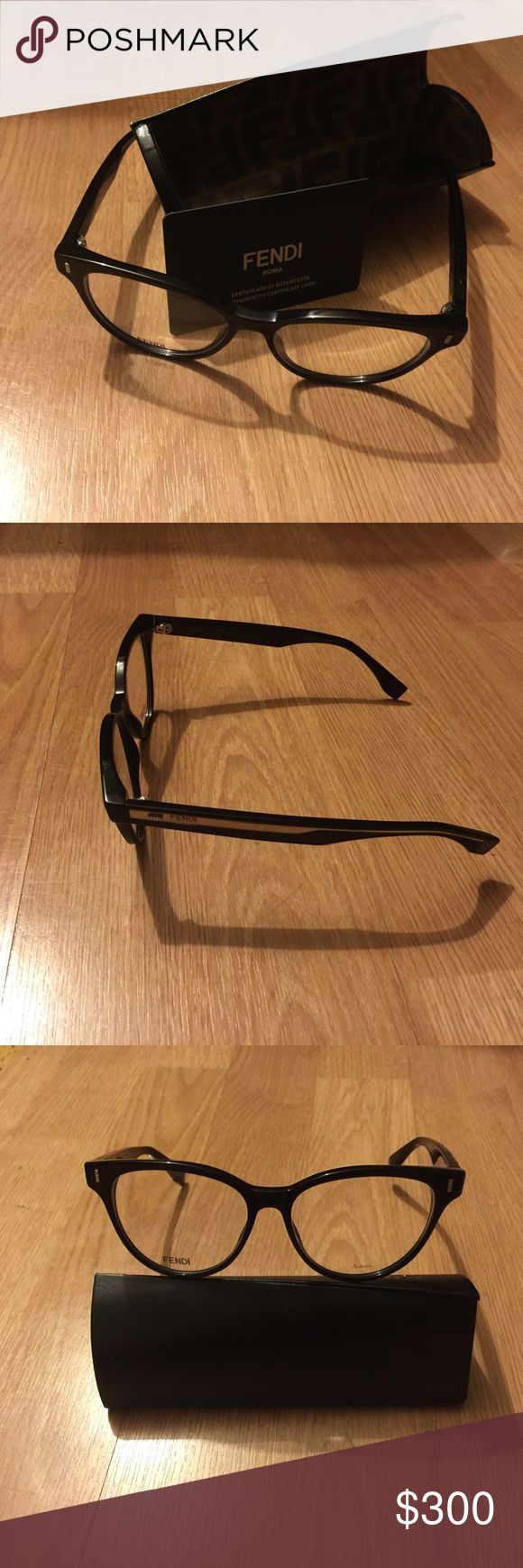 Fendi eyewear Optical fendi glasses. Brand new. Make in Italy. With certificate Size 44-17 140. If you like it make an offer I will happy to bring the price down Fendi Accessories Glasses