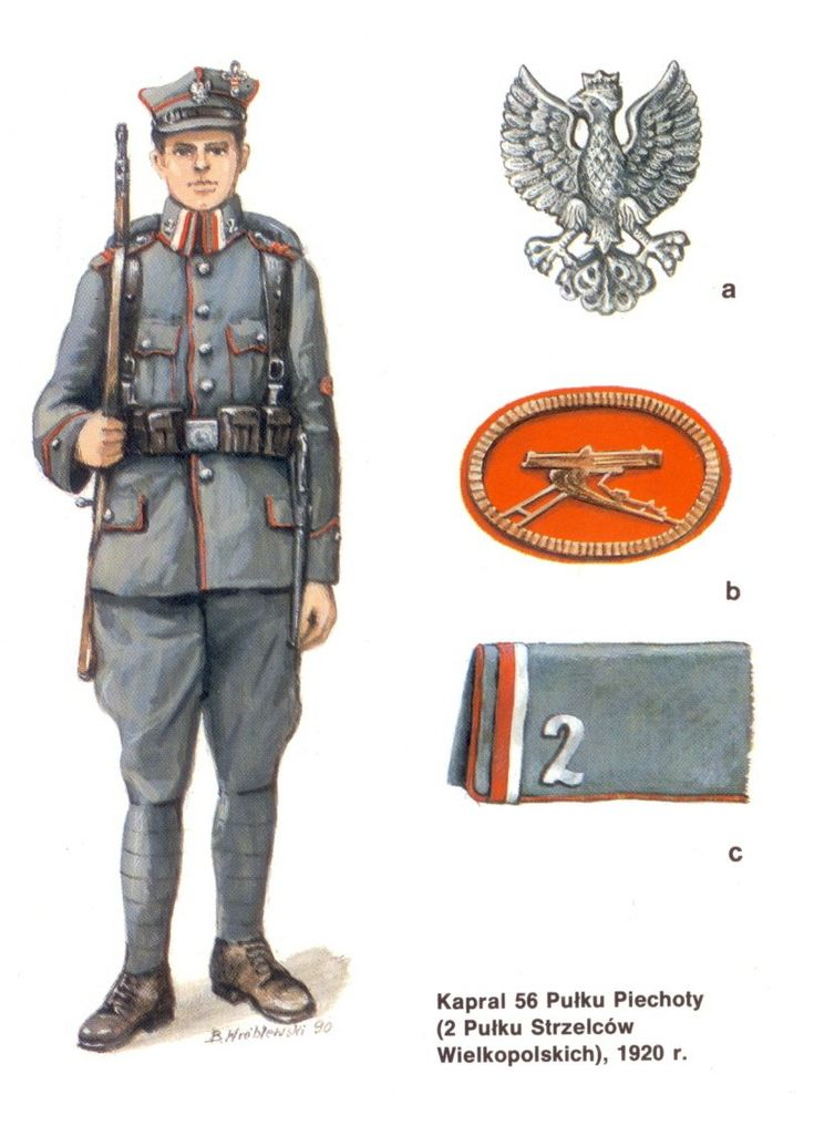 "Studio ""Siberia"" forum --- Forum: Russian Civil war / Гражданская война в России --- Thread: UNIFORMS OF THE POLISH ARMY in 1917-1920."