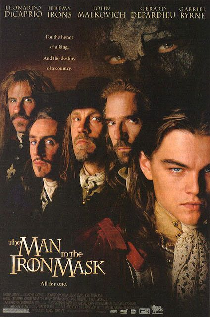 One of my many favorite Leonardo DiCaprio movies - The Man In The Iron Mask