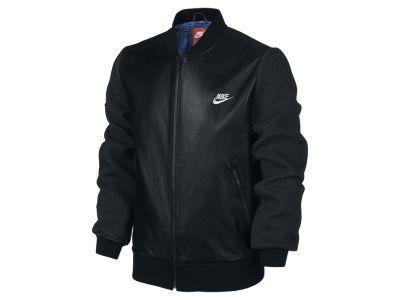 Nike CR7 Galactico Leather Men's Jacket - £250 | Nice to ...