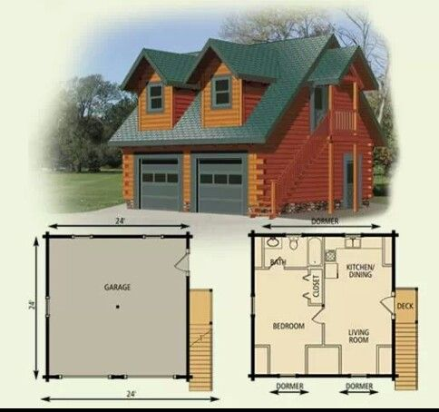 Cheap Log Cabin Kits on storage house floor plans