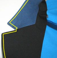 How to make tailored collar jacket.