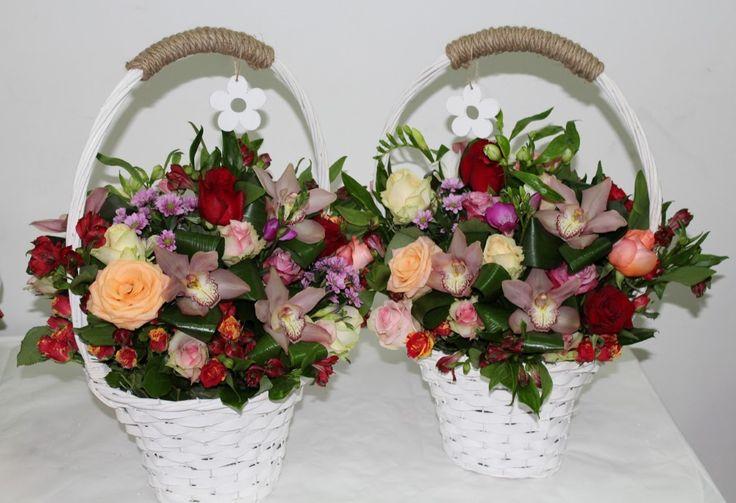Kvetinový kôš Silvia