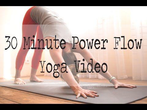 30 Minute Power Yoga Flow — YOGABYCANDACE