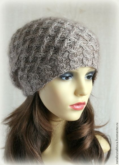 Шапка вязаная Nika - шапка-шарф,вязаная шапка,шапка вязаная,вязаный шарф