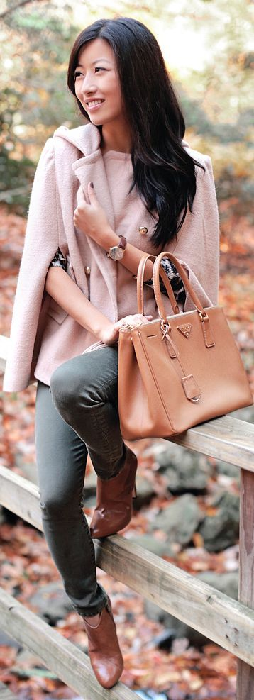#Wool #Cape #Season by Extra Petite => Click to see what she wears
