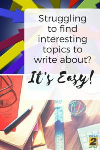 lifestyle topics to write about