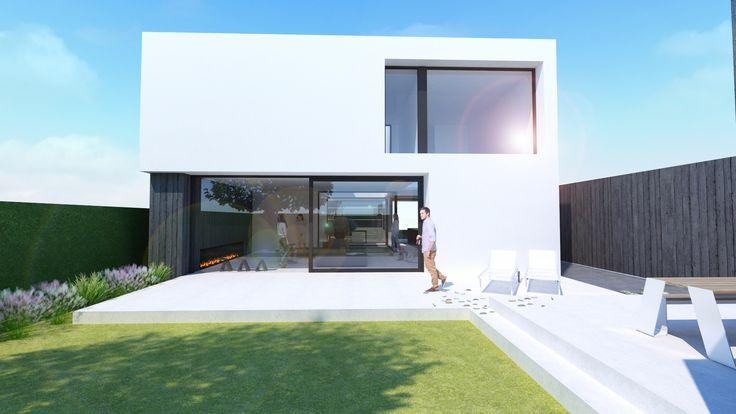 Architectuur#nieuwbouw#kust#Ghyselen Dewitte Architecten