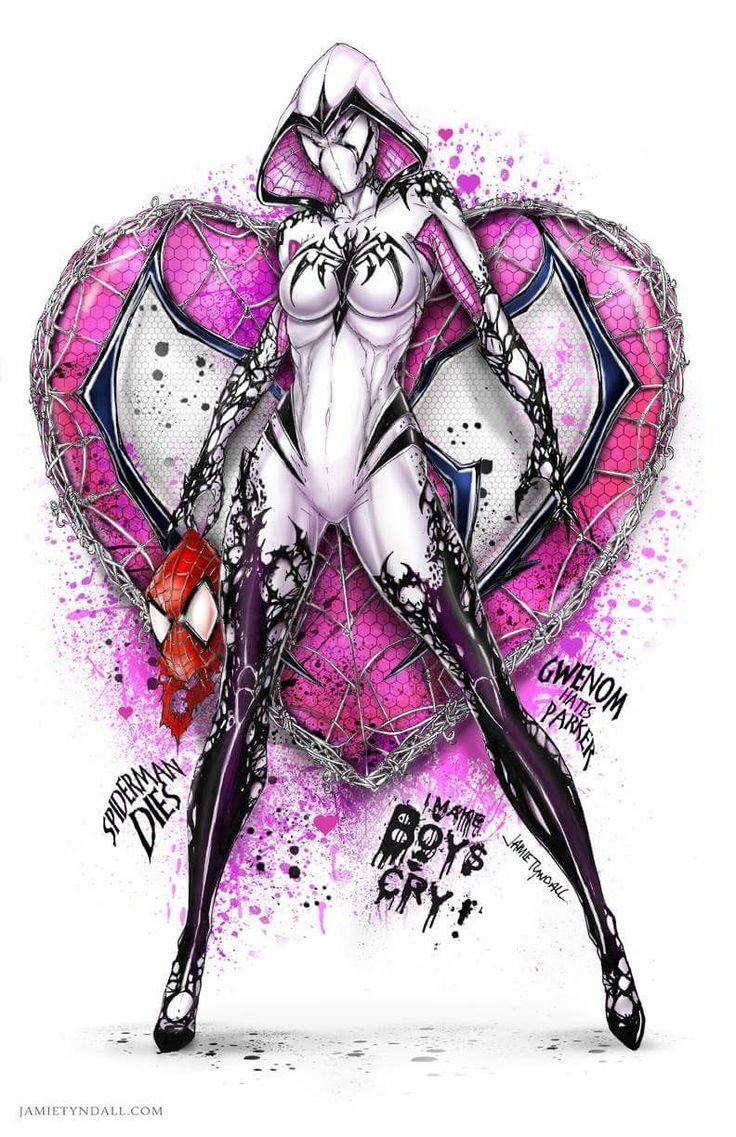 Spidergwen Venom .. Gwenom by Jamie Tyndall
