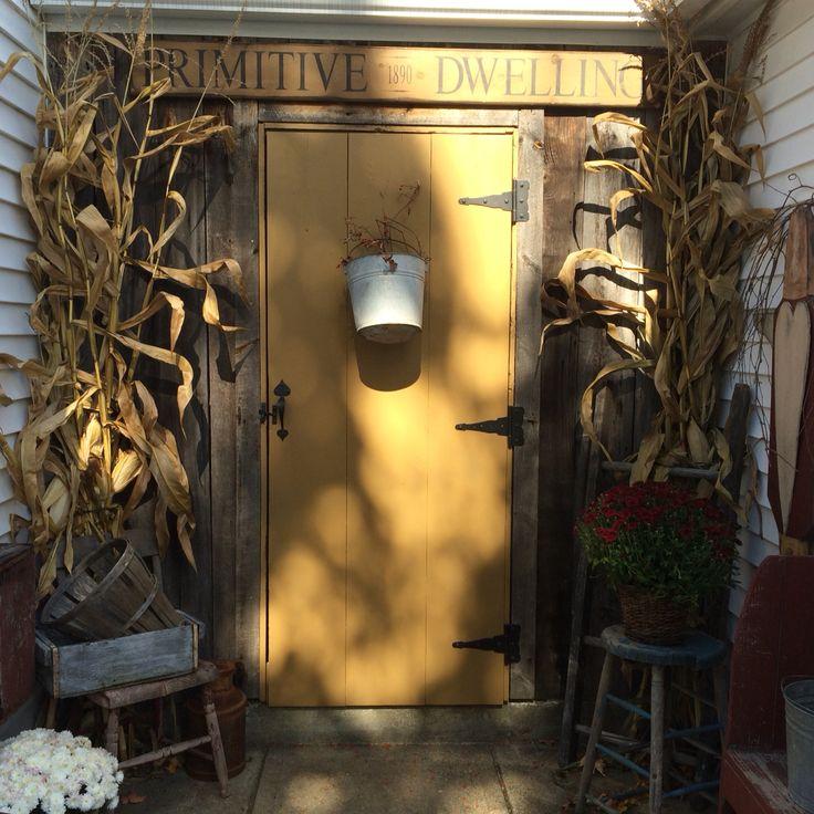 Primitive Fall Welcome & 72 best front door images on Pinterest | Entrance doors Front doors ...