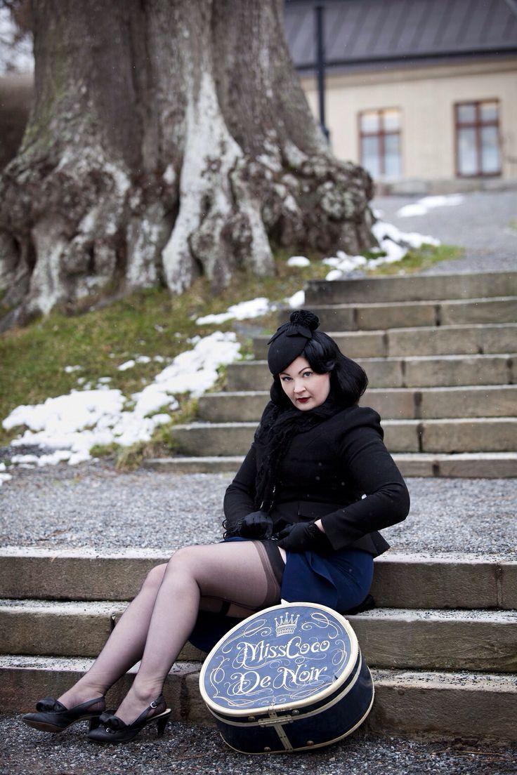 Miss Coco de Noir Photo: Emmelie Åslin Muah: Joy Licious