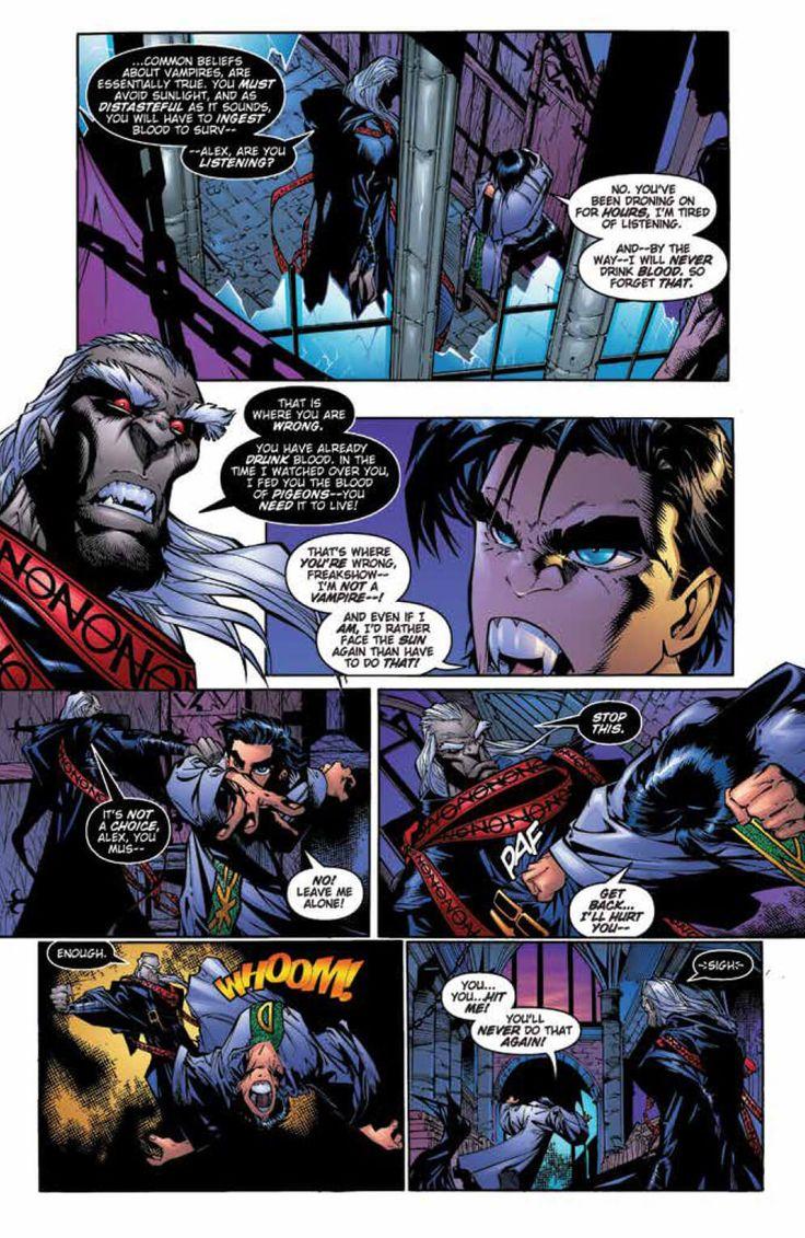 Preview: Crimson Vol. 1 HC | Comics. Comic page. Dark fantasy