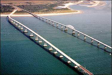 Most Lengthy Chesapeake Bay Bridge Tunnel