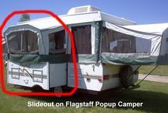 What to search for in a used pop-up camper...